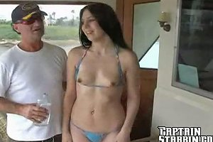 Mellissa Anal On A Boat
