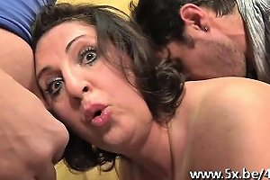 He Watches His Wife Romina Fucked In A Gangbang Nuvid